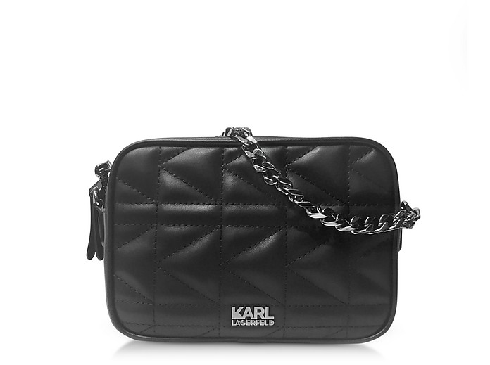 Karl Lagerfeld K/Kuilted cross body bag Discount Codes Shopping Online 2018 How Much Cheap Price Discount Get To Buy Online Shop G0dzRgBG