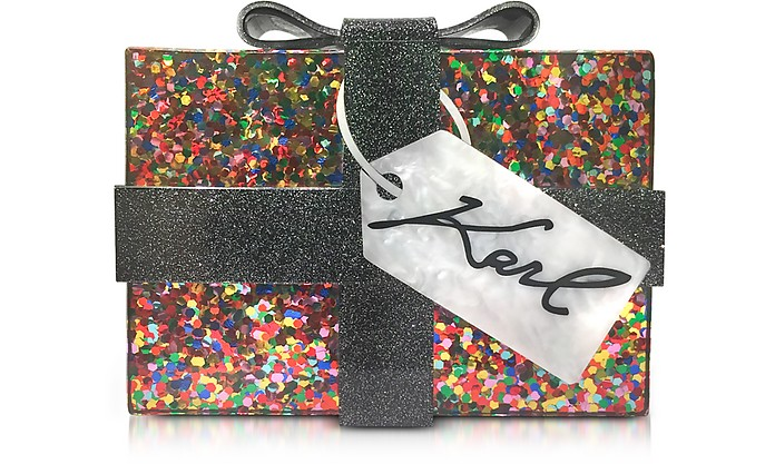 K/Karl Kado Box Clutch - Karl Lagerfeld