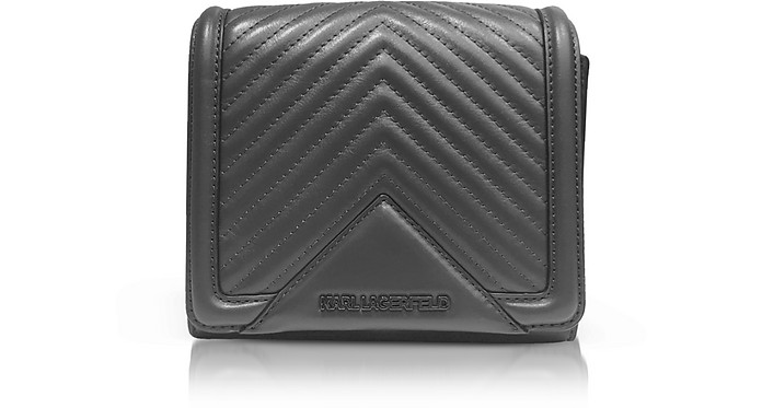 K/Klassik Small Quilted Shoulder Bag - Karl Lagerfeld