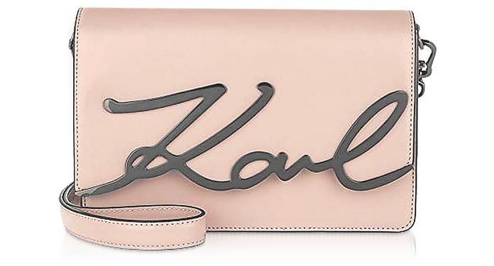 K/Signature Shoulder Bag  - Karl Lagerfeld