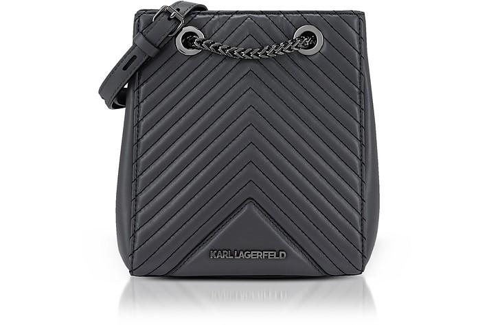 K/Klassik Quilted Bucket Bag - Karl Lagerfeld / カール ラガーフェルド