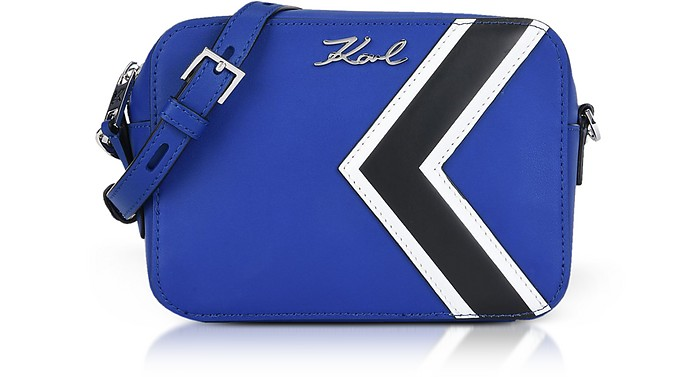 K/Stripes Camera Bag con Tracolla - Karl Lagerfeld