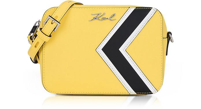 K/Stripes Camera Bag - Karl Lagerfeld