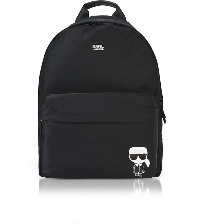 K/Ikonik Nylon Backpack - Karl Lagerfeld