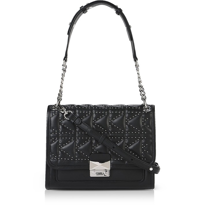 K/Kuilted Studs Handbag - Karl Lagerfeld
