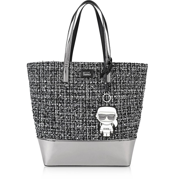 K/Space Tweed Shopper - Karl Lagerfeld