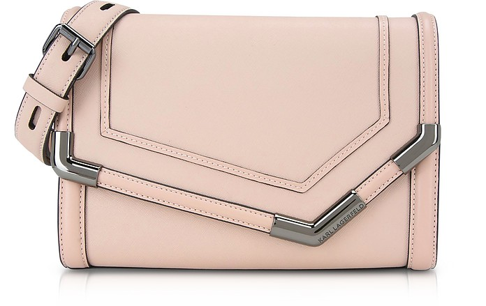 K/Rocky Saffiano Medium Shoulder bag - Karl Lagerfeld