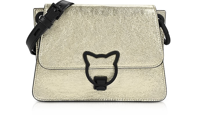 K/Katlock Metallic Crossbody Bag - Karl Lagerfeld