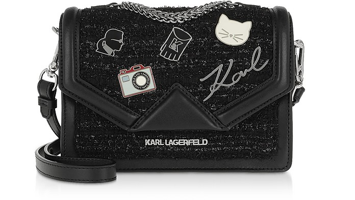 K/Klassik Pins Small Shoulder Bag - Karl Lagerfeld