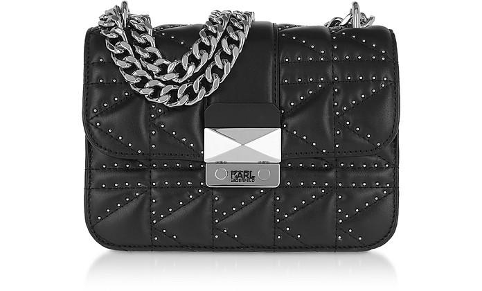 K/Kuilted Studs Crossbody Bag - Karl Lagerfeld