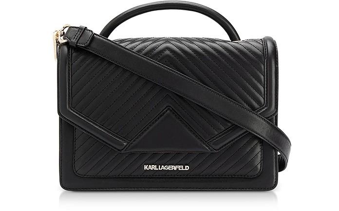 K / Klassik绗缝单肩包 - Karl Lagerfeld 卡尔·拉格斐