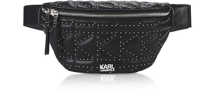 K/Kuilted Studs Belt Bag - Karl Lagerfeld
