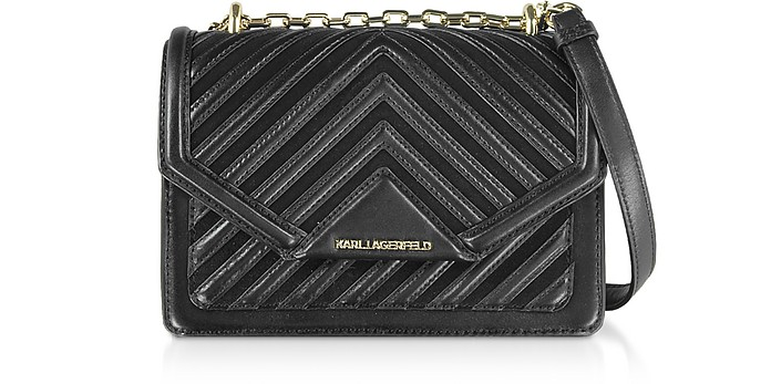 Klassik Quilted Small Crossbody Bag - Karl Lagerfeld