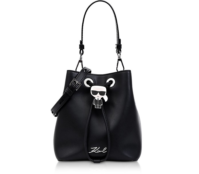 K/Ikonik Bucket Bag - Karl Lagerfeld