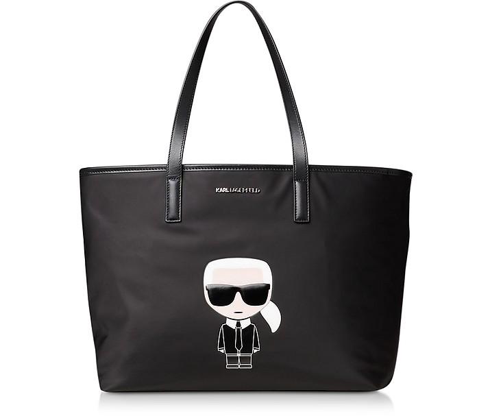 K/Ikonik Nylon Tote - Karl Lagerfeld