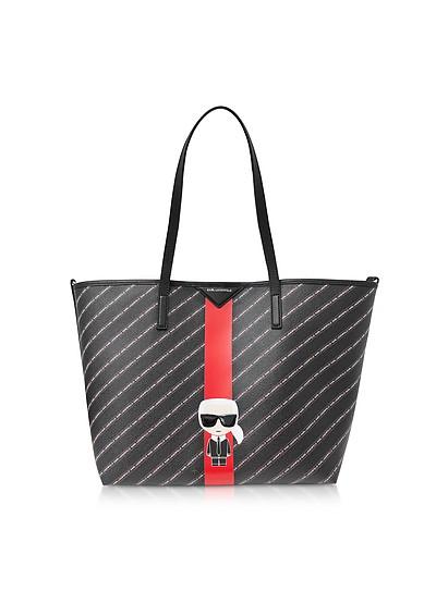 K/Stripe Ikonik Tote - Karl Lagerfeld