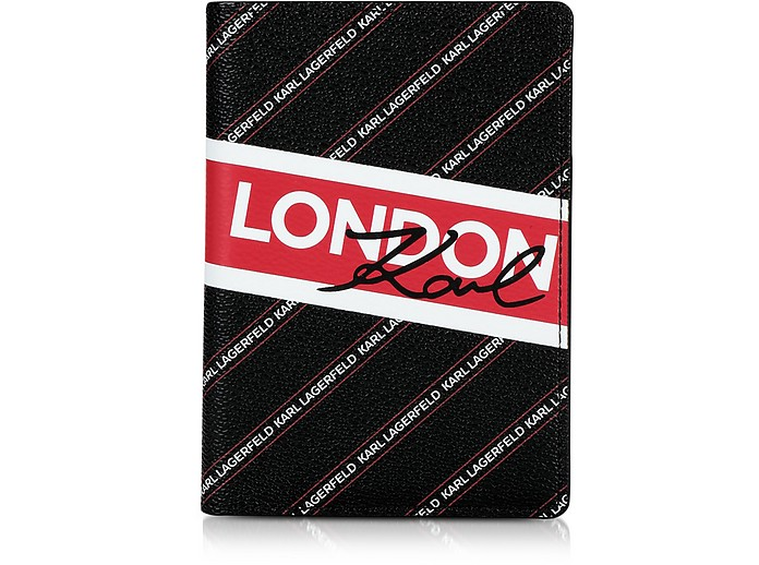 K/City London Passport Holder - Karl Lagerfeld