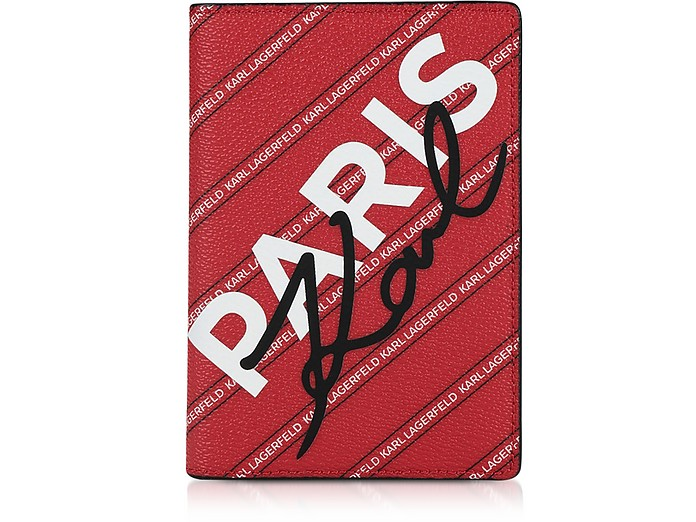 K/City Paris Passport Holder - Karl Lagerfeld