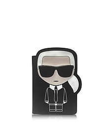 K/Ikonik Passport Holder - Karl Lagerfeld