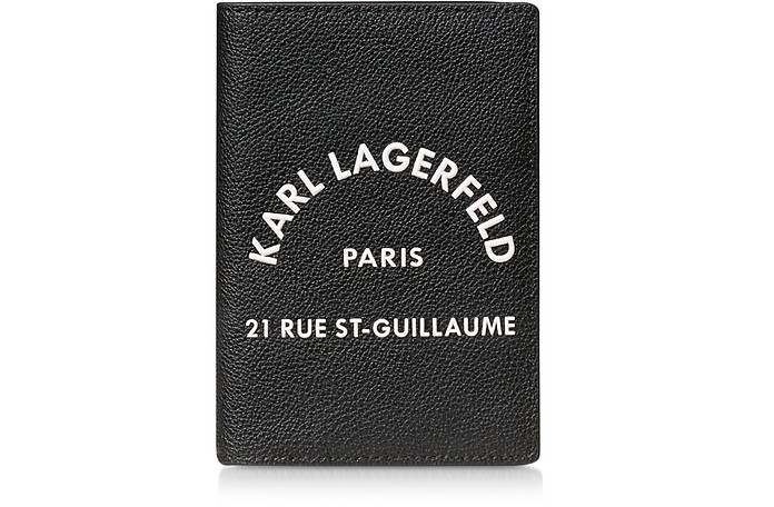 Rue St. Guillaume Passport Holder - Karl Lagerfeld