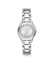 Janelle Stainless Steel Women's Quartz Watch - Karl Lagerfeld