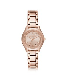 Janelle Rose Gold-tone PVD Stainless Steel Women's Quartz Watch - Karl Lagerfeld