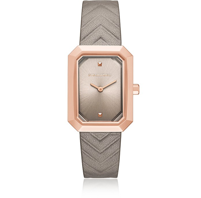 Linda Dusk Rose Gold Women's Watch - Karl Lagerfeld
