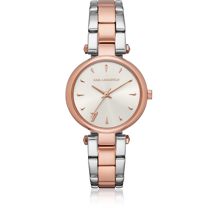 Aurelie Two Tone Women's Watch - Karl Lagerfeld