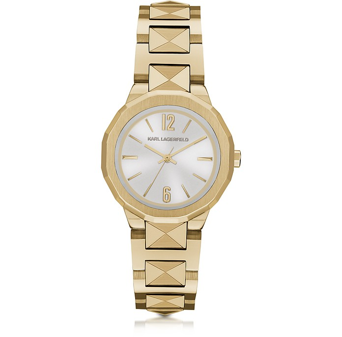Joleigh Goldtone Iconic Women's Watch - Karl Lagerfeld
