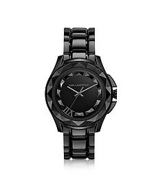 Karl 7 43.5 mm Black IP Stainless Steel Unisex Watch