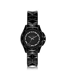 Karl 7 30 mm Black IP Stainless Steel Women's Watch