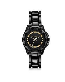 Karl 7 36 mm Black/Gold IP Stainless Steel Unisex Watch