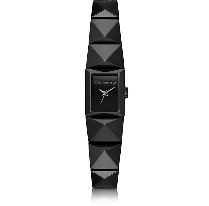 Perspektive Black Stainless Steel Women's Watch - Karl Lagerfeld