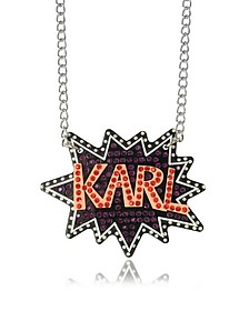 K/Pop Glitter Necklace - Karl Lagerfeld