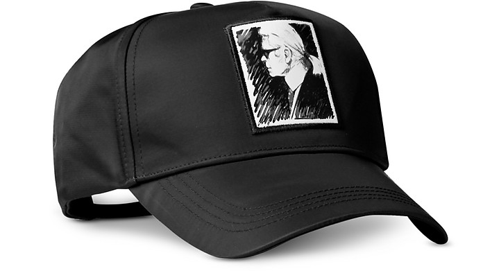 Karl黑色棒球帽 - Karl Lagerfeld 卡尔·拉格斐