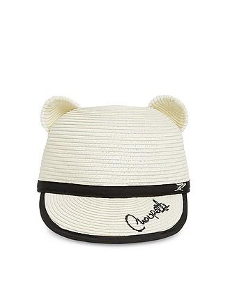 41c991e2495 Choupette Natural Straw Ears Cap - Karl Lagerfeld