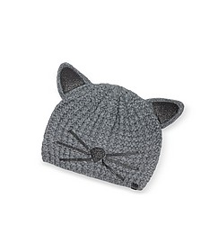 Mouse Grey Choupette Knit Hat - Karl Lagerfeld