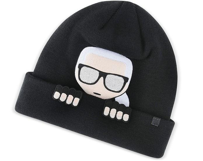 K/Ikonik Beanie - Karl Lagerfeld