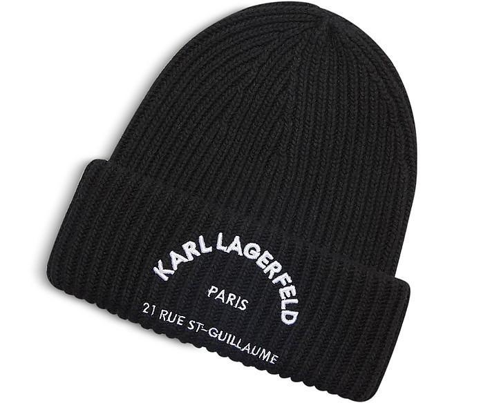 Rue St. Guillaume Beanie - Karl Lagerfeld