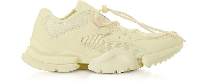Pale Yellow Run R 96 Sneakers - Reebok Classics