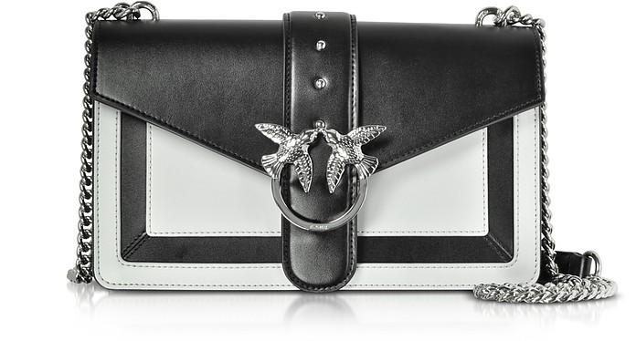 Color Block Leather New Evolution Shoulder Bag - Pinko