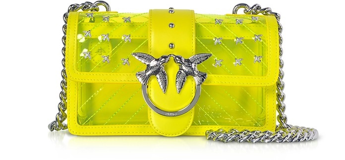 Mini Love Transparent Shoulder Bag - Pinko / ピンコ