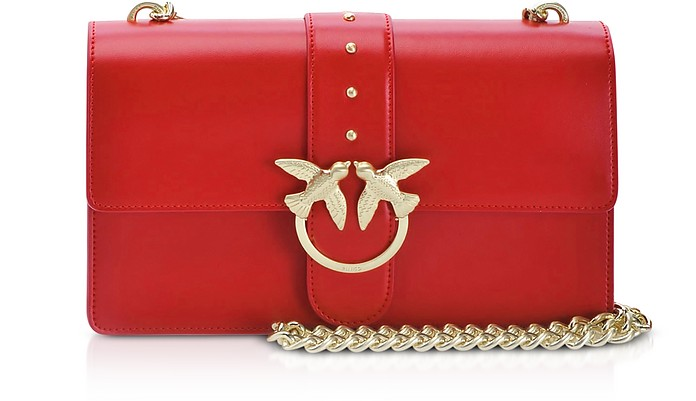 Red Love Classic Simply Shoulder Bag - Pinko