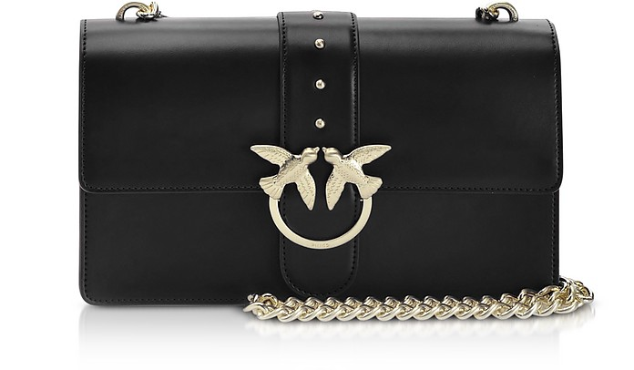 Black Love Classic Simply Shoulder Bag - Pinko