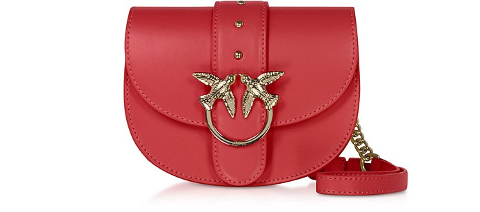 Red Go Round Baby Simply Shoulder/Belt Bag - Pinko