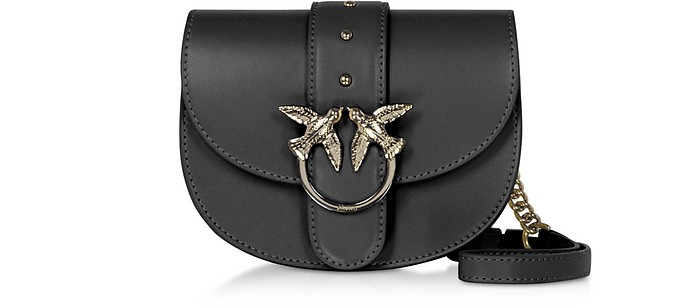 Black Go Round Baby Simply Shoulder/Belt Bag - Pinko