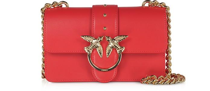 Red Love Mini Simply Shoulder Bag - Pinko