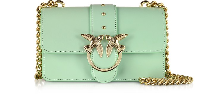 Green Love Mini Simply Shoulder Bag - Pinko