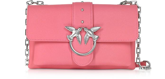 Pink Love Mini Soft Simply Shoulder Bag - Pinko