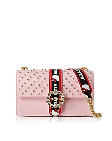 Love Hello Kitty Jewel Pink Eco Leather Shoulder Bag - Pinko